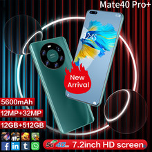 Smartphone, Mate40 Pro, ram 8 go, rom 7.2 go, 256