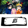 1 шт. повязка Naruto аниме Костюмы для косплея аксессуары Sasuke Itachi Akatsuki Какаши Конохи логотип Konoha Ninja Головные уборы