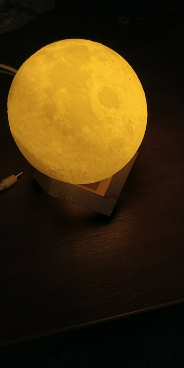 Ultimate Moon Lamp 18CM photo review