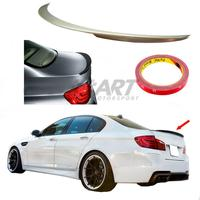 Spoiler for BMW 5 Series F10 Performance finish made from Abs plastic