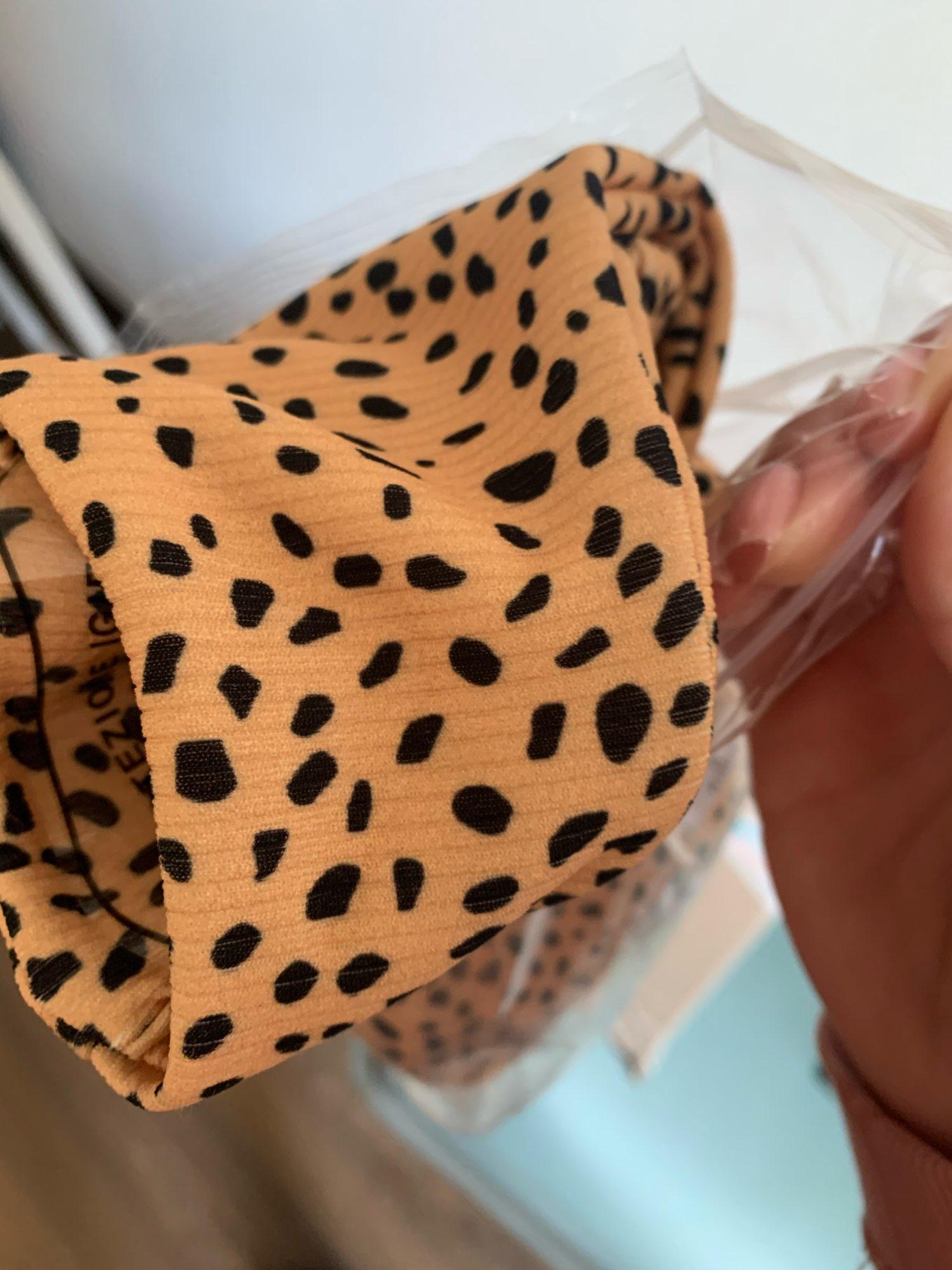 Leopard Brazilian Bikini photo review
