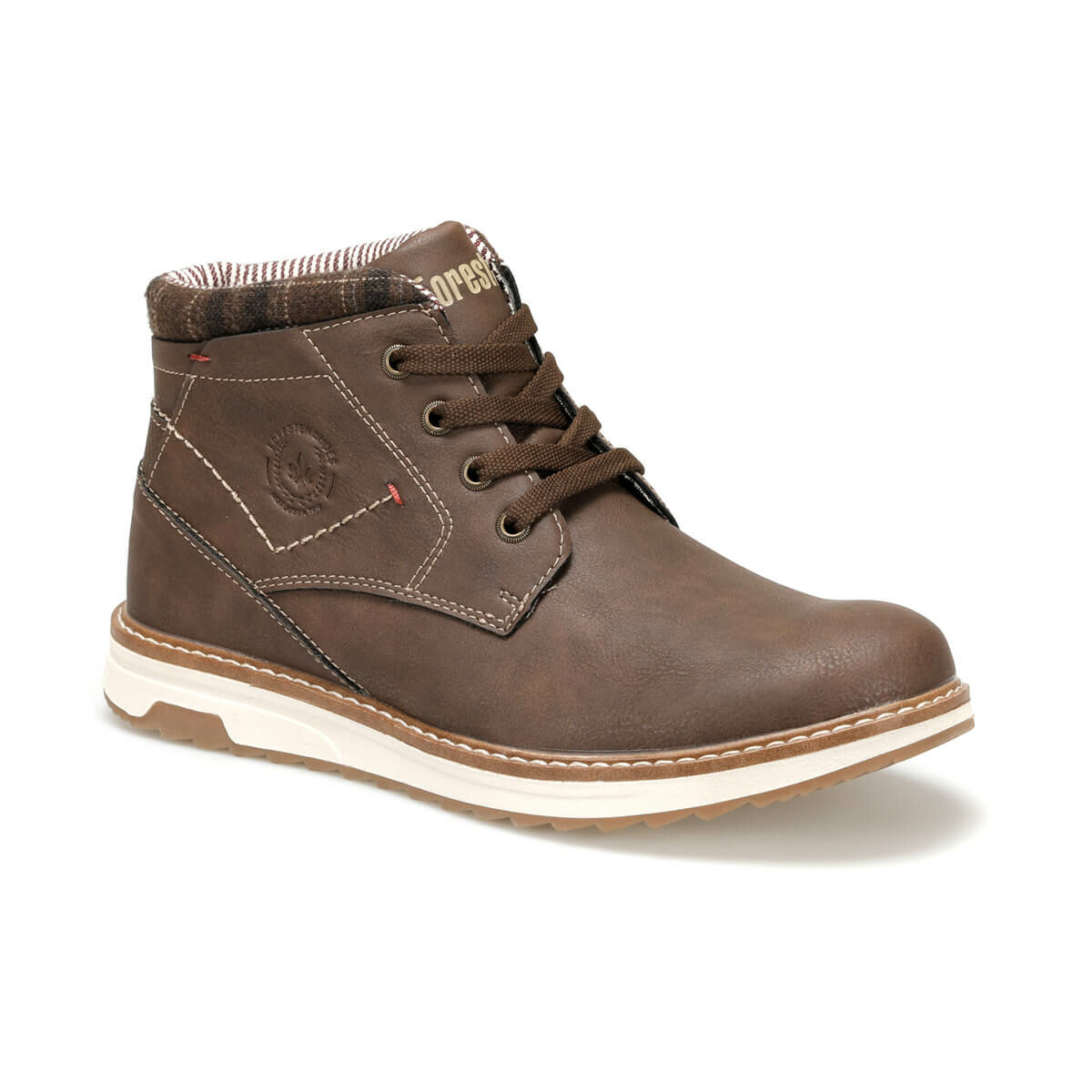 FLO SD9907-3 Dark Coffee Men Boots Forester