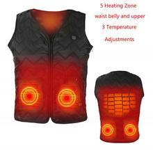 Мужская куртка с электрическим подогревом, с USB, для улицы, для природы, похода, катания на лыжах, Термальный теплый жилет с подогревом, женский пуховик, софтшелл, тепловое пальто+ 3 уровня
