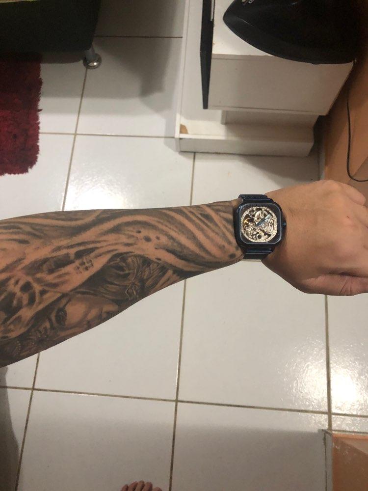 -- Homens Relógios Mecânicos