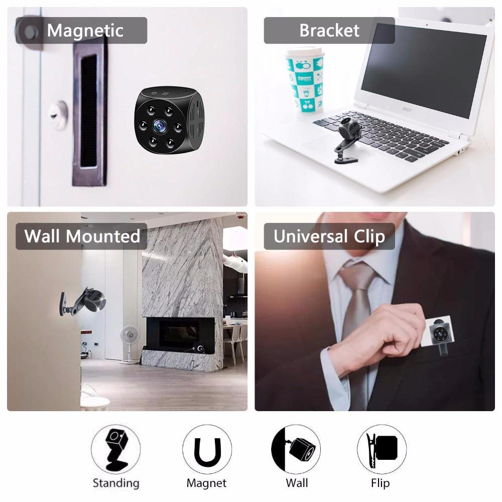 2020 új mágneses mini akció kamera vezeték nélküli kis - Kamera és fotó - Fénykép 5