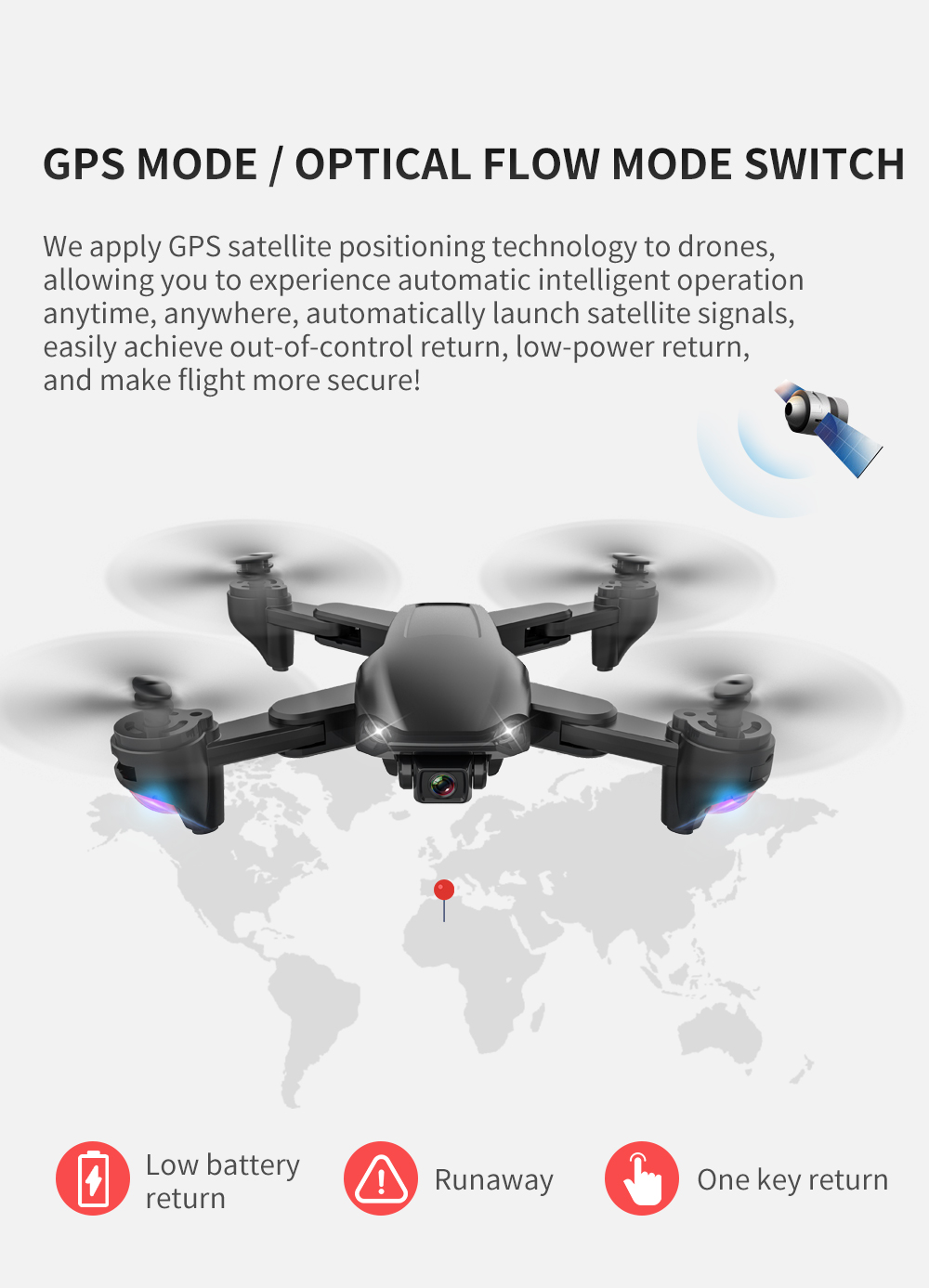 cheapest SG701   SG701S RC Drone with 4k camera helicopter 5G WIFI GPS fpv professional drones quadrocopter GPS one key return 15mins Toy