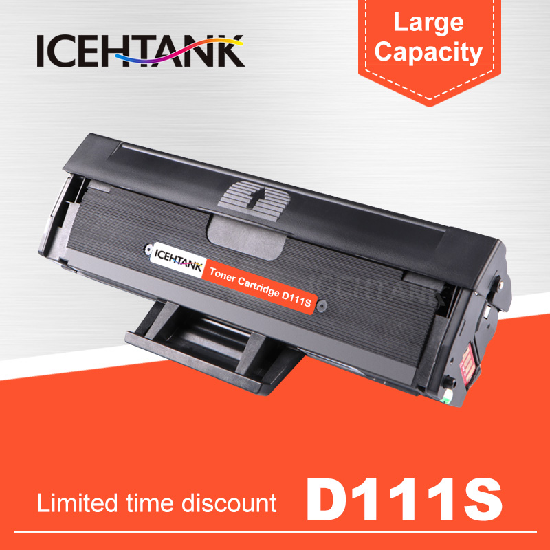 ICEHTANK D111 MLT D111S 111 Toner Cartridge Compatible for samsung <font><b>Xpress</b></font> M2070 M2070FW M2071FH <font><b>M2020W</b></font> M2021 M2022 with chip image