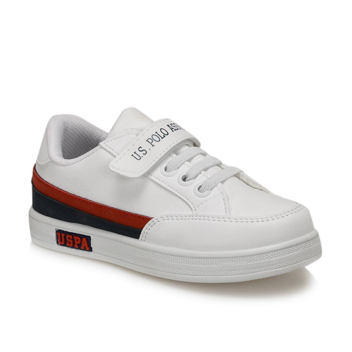 FLO JAMAL 9PR White Male Child Sneaker Shoes U.S. POLO ASSN.
