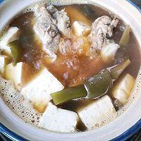 脊骨海带豆腐汤,简单易做暖胃清爽还减脂的做法图解9