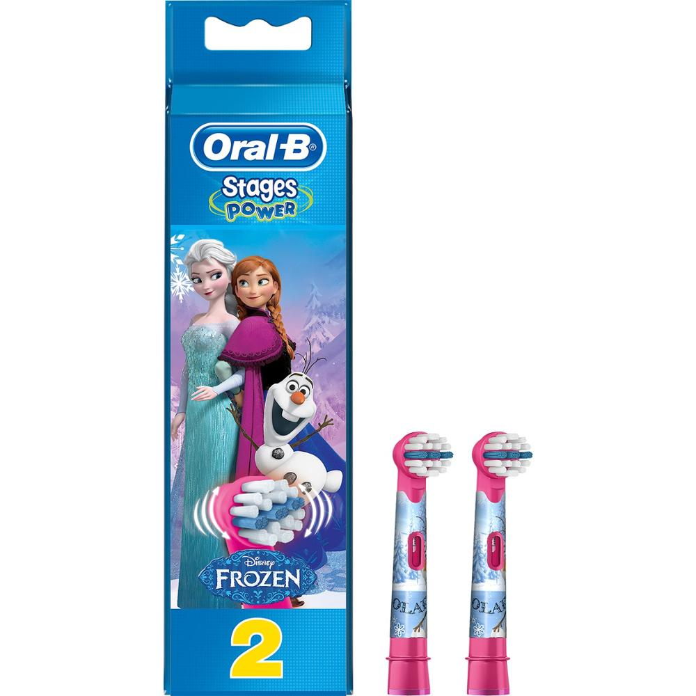 Oral-B Frozen Kids 2 Toothbrush Replacement Head image