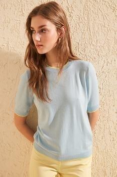 Trendyol Bias Tape Detailed Knitwear Sweater TWOAW20KZ0170