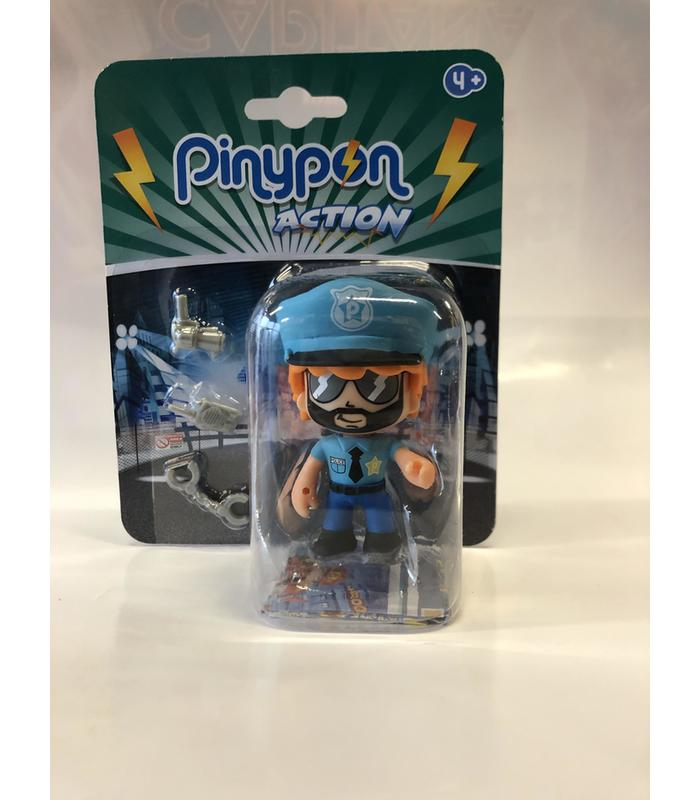 Figure Pinypon Action Police Toy Store Articles Created Handbook