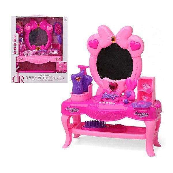 Child's Hairedressing Set Dream Desser 111439 Pink