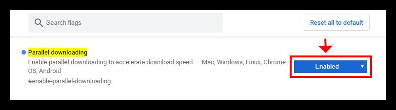 Chrome内核浏览器通过开启多线程下载提升下载速度-弄事堂-NSTUN