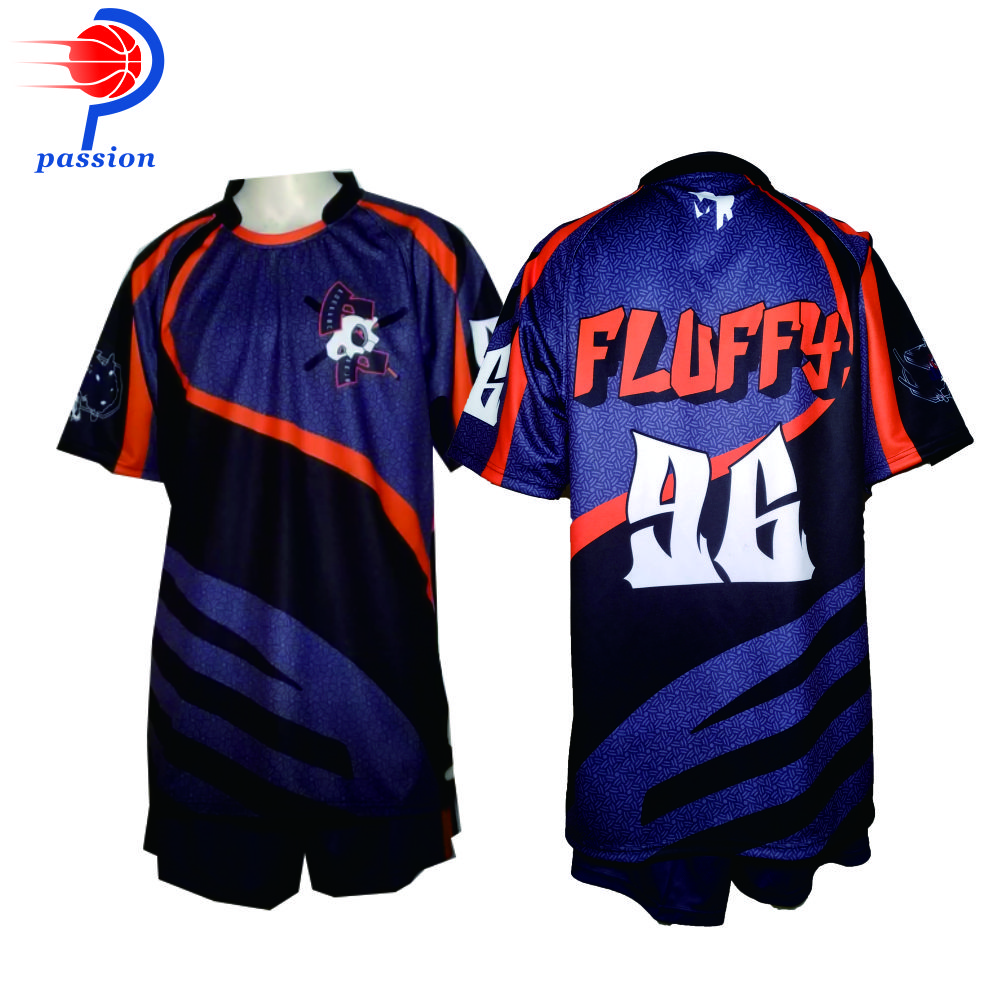 Sublimation Team Wear Rugby league jersey and Short