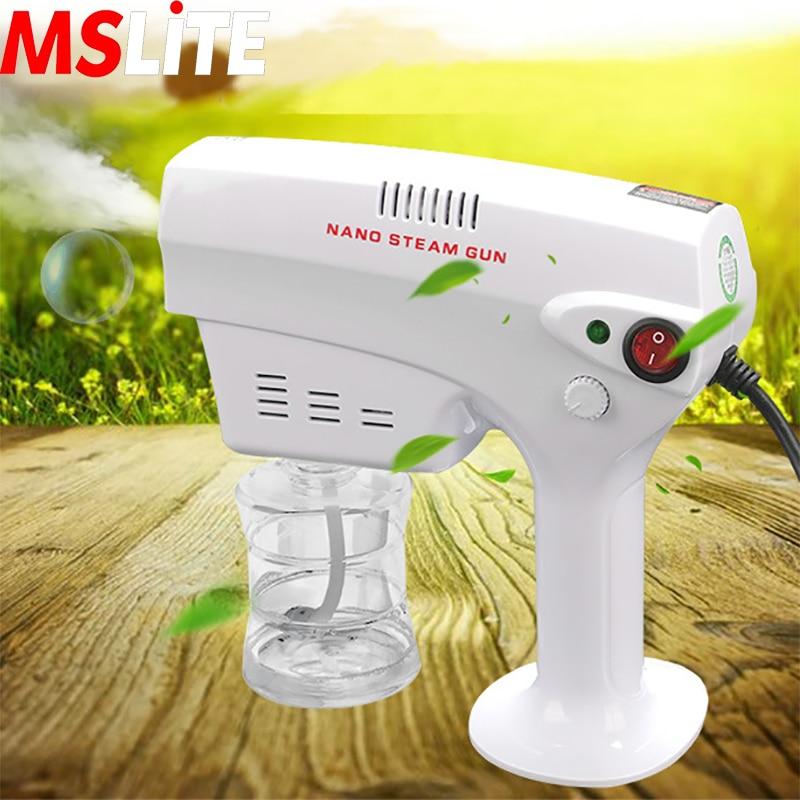Hair Care Nano Steam Spray Gun Office Humidifier Disinfection Blue Light Spray Gun Against Virus/dust/germs