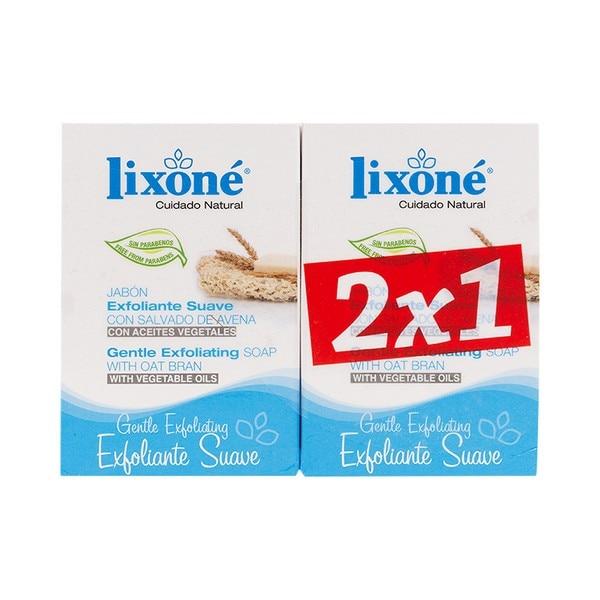 Soap Set Gentle Exfoliating Lixoné (2 Pcs)
