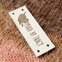 55 шт пользовательские Вышивание метки шерстяной пряжи для вязания