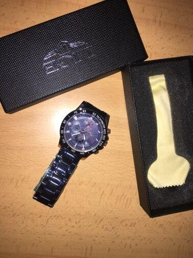 -- Cronógrafo Homens Relógios