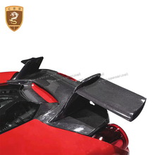 цена на carbon fiber rear wing for Ferari 488 carbon fiber rear spoiler for Ferari 488 spider for 488 M style rear spoiler