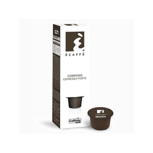 Caffitaly Corposo, 10 coffee capsules of the brand Ècaffè