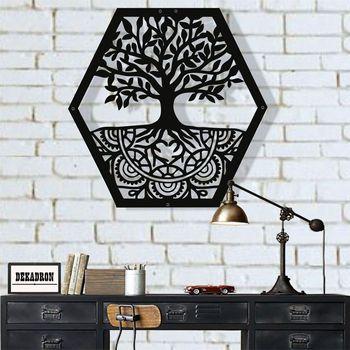 Metal Wall Art, Tree of Life Wall Art, Metal Family Tree Sign, Metal Wall Decor, Interior Decoration, Family Decor Tree Wall Art