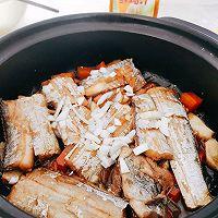 #太太乐鲜鸡汁芝麻香油#不用油煎的砂锅香焖带鱼的做法图解10