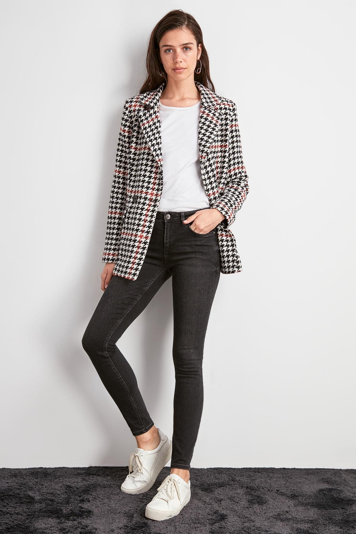 Trendyol Normal Waist Skinny Jeans TWOAW20JE0484
