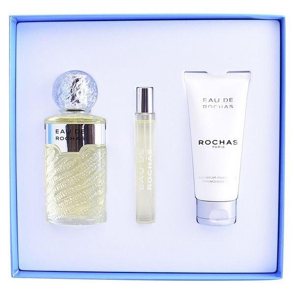 Women's Perfume Set Eau De Rochas Rochas (3 pcs)