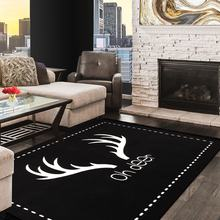 Double Sided Carpet Rug Acrylic Used in Kids Room Living Room and Fireplace Front
