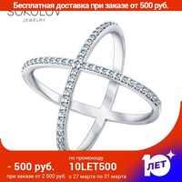 SOKOLOV ring mit cubic silber mode schmuck 925 frauen der männlichen