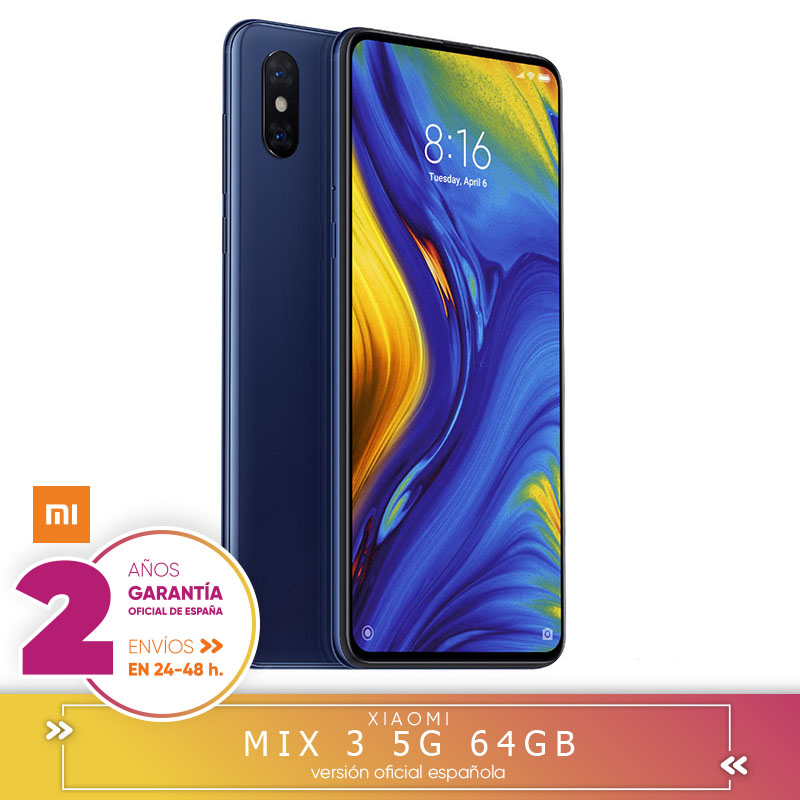 -Garantie Offizielle Española-Xiaomi mix 3 5G 6 harte GB 64 harte GB Snapdragon 855 octa Core 5G smart telefon