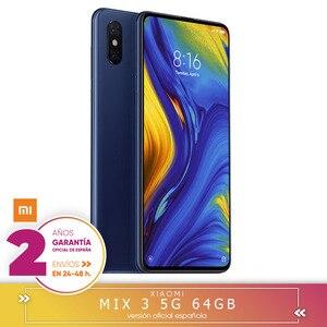 -Gwarancja na nasze szczegółowe opisy i opinie Española-Xiaomi mix 3 5G 6 twardy GB 64 bardzo ciężko GB rdzeniowy Snapdragon 855 octa 5G inteligentny telefon