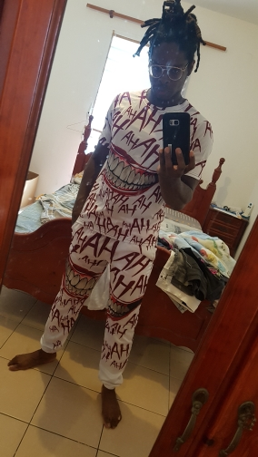 Frdun Tommy  Haha Joker 3D Printed Sweatpants Fashion Casual Jogger Pants Casual Warm Pants Slim Kpop Men/Women Pants photo review