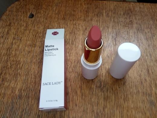 SACE LADY 9 Colors Lips Makeup Waterproof Silky Matte Lipstick Long Lasting Moisture Lipstick Matte Red Lip stick Cosmetic reviews №1 149315