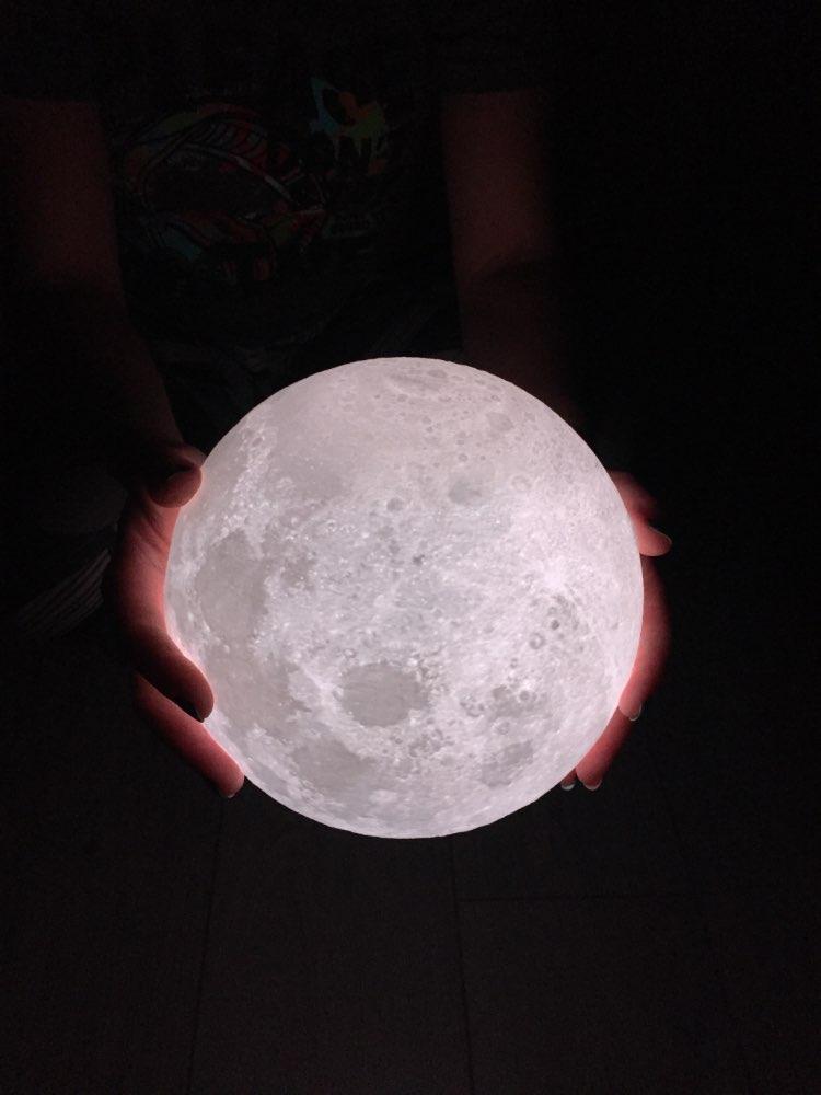 Ultimate Multicolours Moon Lamp 20CM photo review