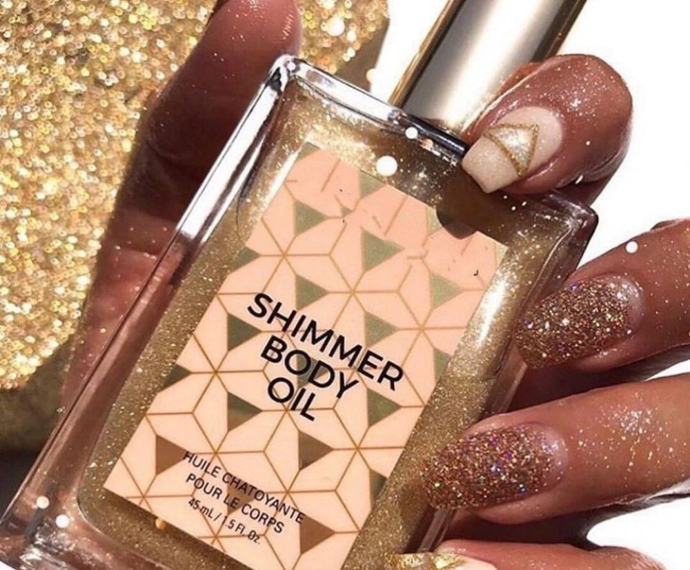 Ассорти товаров Мерцающее масло для тела Шиммер для тела с блесками Shimmer 50ml