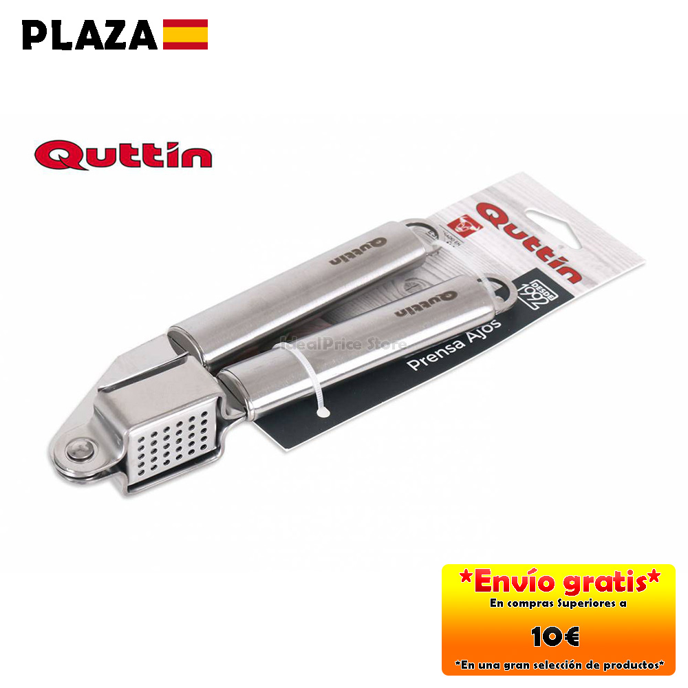 QUTTIN® Prensa ajos 18. 5CM Acero ...