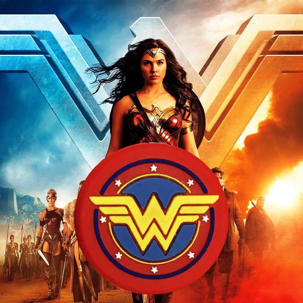 5pcs/lot)Wonder Woman Damp/the Newest Tennis Racket Vibration Dampeners/tennis Racquet