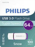 USB 64 GB, PHILIPS Flash Drive ,Super speed, up to 100 MB/s