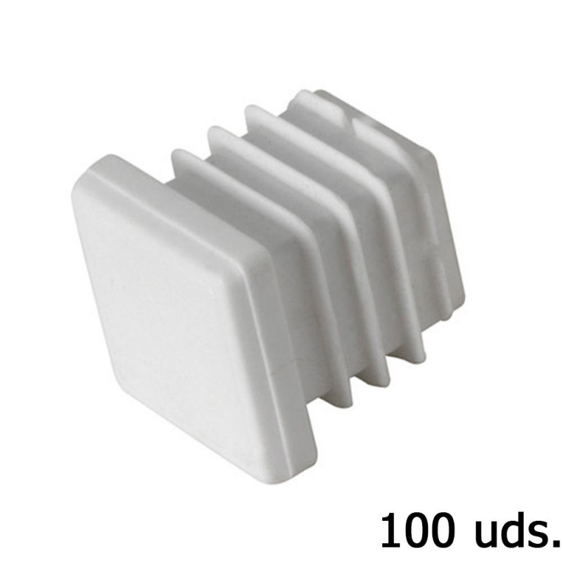 Cone Plastic Square 22x22mm. Bag 100 Pcs
