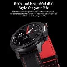 Reloj inteligente para hombres, pulsera para Fitness, rastreador de actividad para mujeres, dispositivos portátiles, banda Smartwatch, Monitor de ritmo cardíaco, reloj de pulsera deportivo