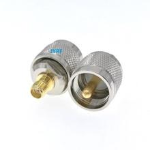 10 sztuk SMA żeńskie do UHF PL259 męskie złącze RF Adapter tanie tanio JYRF SMA Female To UHF PL259 Male
