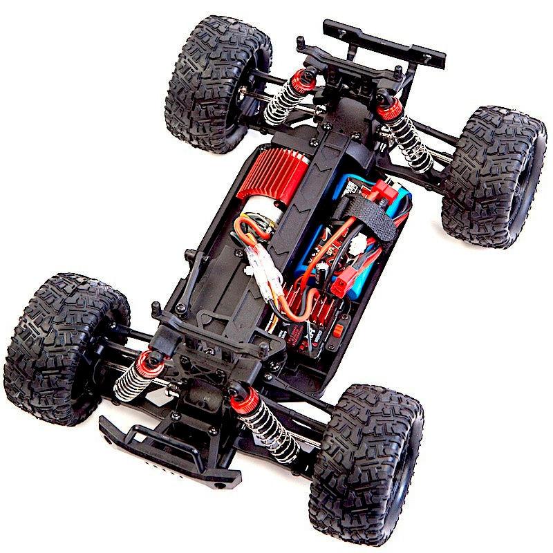 Радиоуправляемый монстр Remo Hobby RH1635 4WD RTR масштаб 1:16 2.4G – купить с доставкой в интернет-магазине RC-TODAY.RU