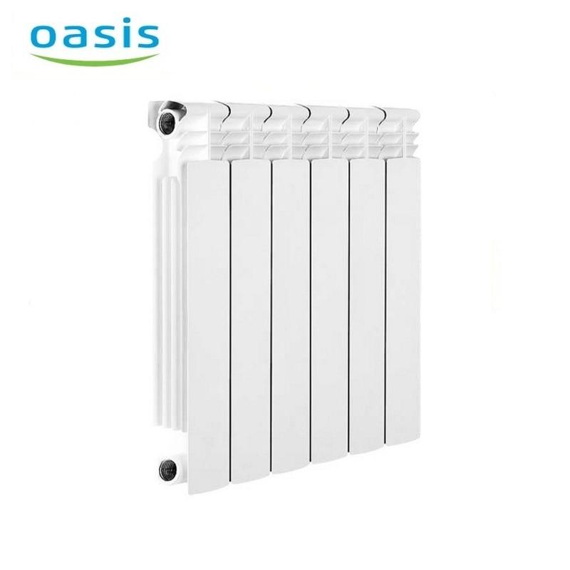 004 Radiator aluminum cast Oasis 500/80/6  air heater heating elements household radiator home energy saving 004 bimetal radiator oasis 500 80 6 electric heater air heater heating elements household radiator home energy saving
