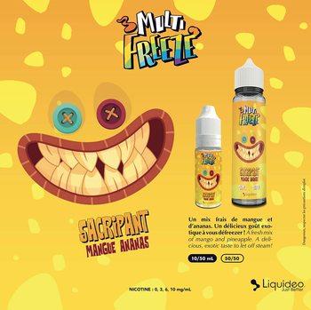 E-liquide Multi gel-sacrifiant, 50ML, sans nicotine, 50vg/50pg, cigarettes électroniques, Vape