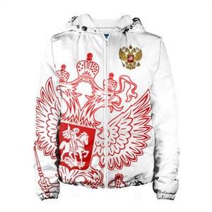 Женская куртка 3D Россия