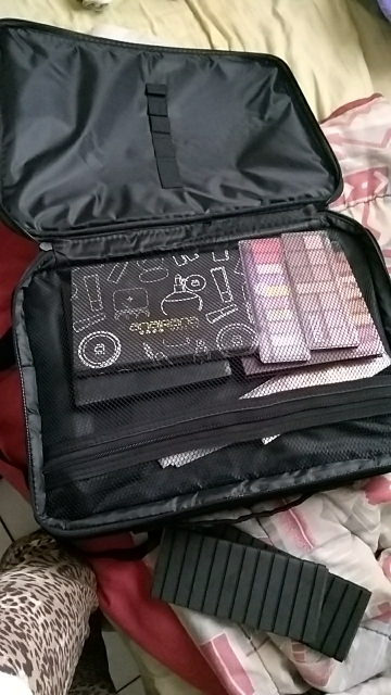 Bolsas p/ cosméticos cosméticos viagem organizador