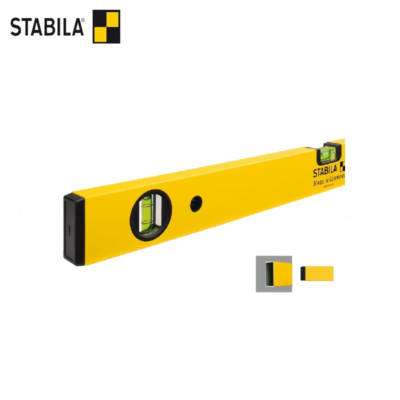 STABILA Level type 70, 150 cm (1vert., 1horiz., Exact. 0,5 mm / m) Bubble level instrument Vertical magnet Horizontal ruler цены онлайн