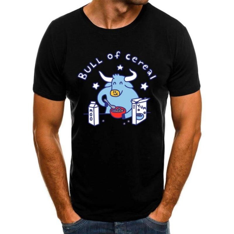 Купить мужская хлопковая футболка с принтом быка хлопка в стиле хип